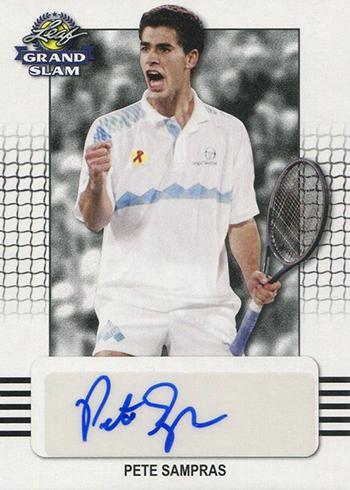2018 Leaf Grand Slam Tennis Pete Sampras Autograph