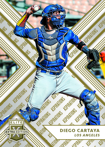 2018 Panini Elite Extra Edition Baseball Aspirations