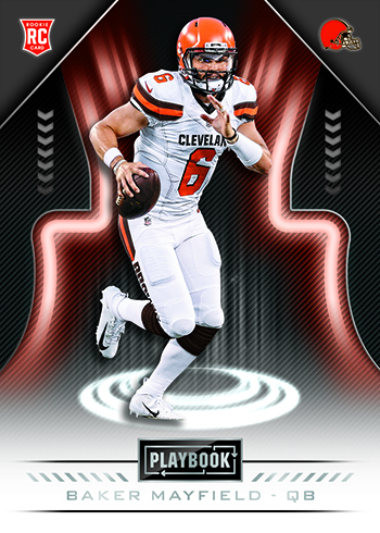 2018 Panini Playbook Football Base Baker Mayfield