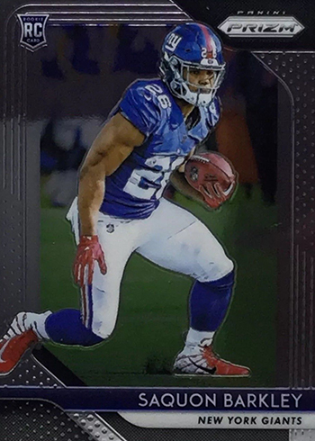 2018 Panini Prizm Football Saquon Barkley RC