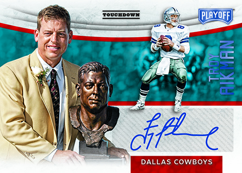2018 Playoff Football Hall of Fame Autographs