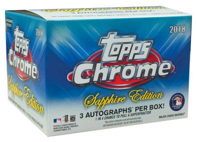 2018-Topps-Chrome-Sapphire-Edition Baseball-Box