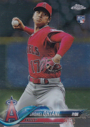 2018 Topps Chrome Update Baseball Shohei Ohtani