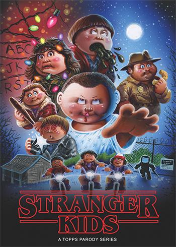 2018 Topps Stranger Kids