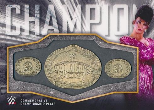 2018 Topps WWE Womens Division Championship Belt Sensational Sherri