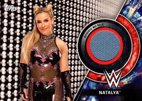 2018 Topps WWE Womens Division Mat Relic Natalya