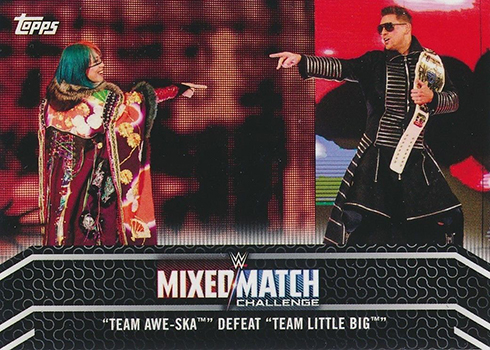 2018 Topps WWE Womens Division Mixed Match Challenge