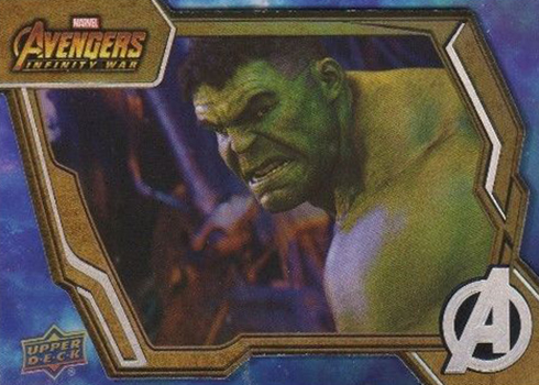 2018 Upper Deck Avengers Infinity War Base