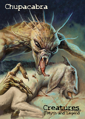 2019 Perna Studios Creatures of Myth and Legend P1 Chupacabra