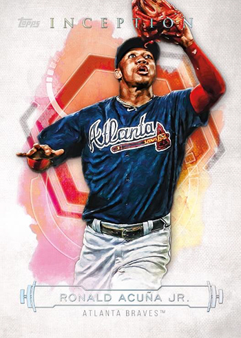 2019 Topps Inception Baseball Ronald Acuna Jr.