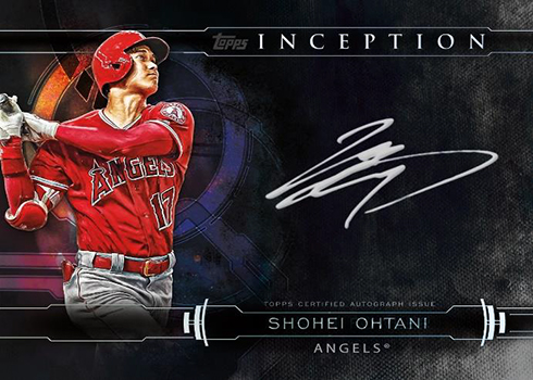 2019 Topps Inception Baseball Inception Silver Signings