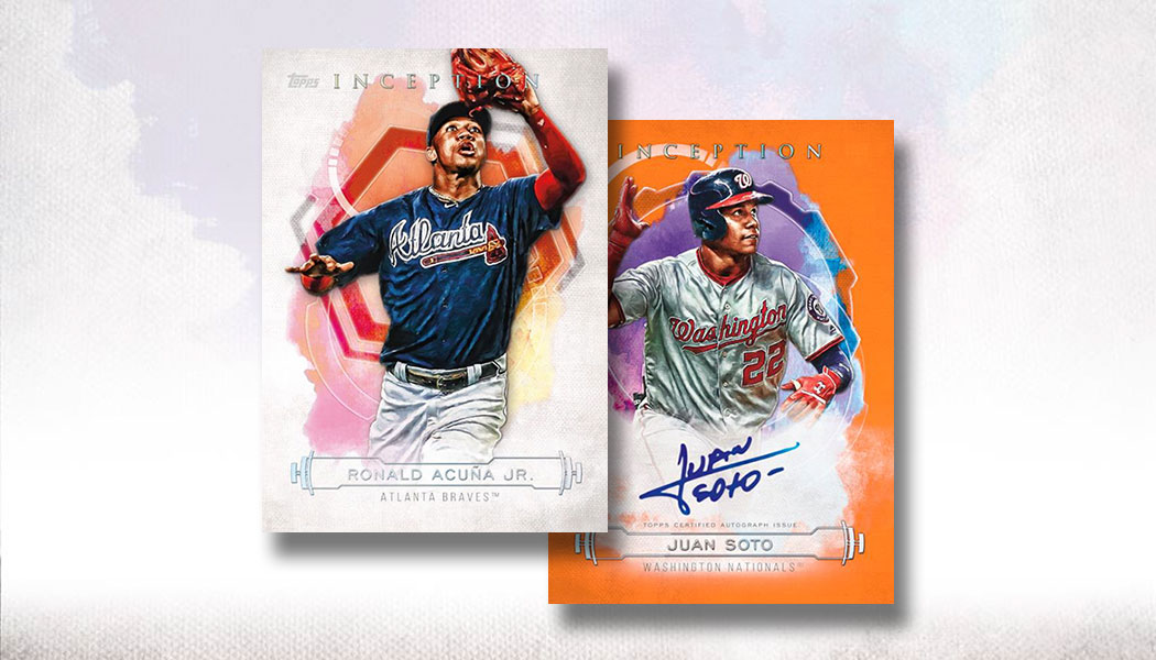 2018 Topps Inception Complete Your Set U-Pick