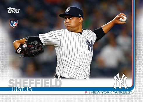 2019 Topps Opening Day Baseball Base Justus Sheffield
