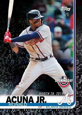 2019 Topps Opening Day Baseball Base Opening Day