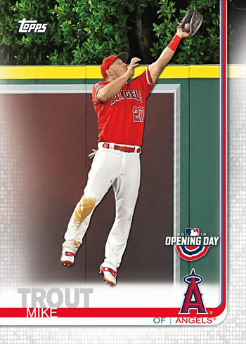 2019 Topps Opening Day Baseball Base