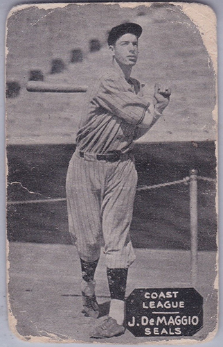 1933-36 Zeenut Joe DiMaggio