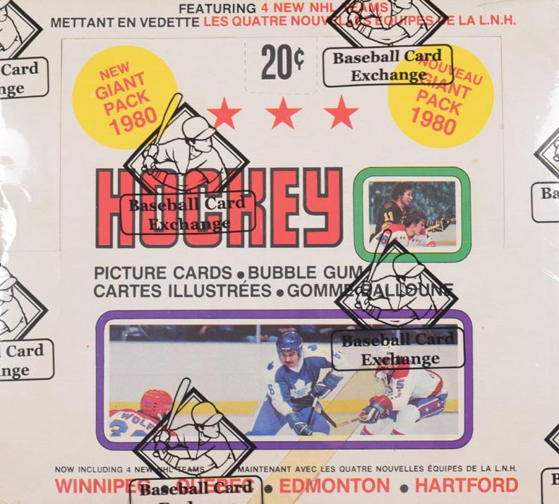 1979-80 O-Pee-Chee Hockey Box Classic Auctions Nov-2018