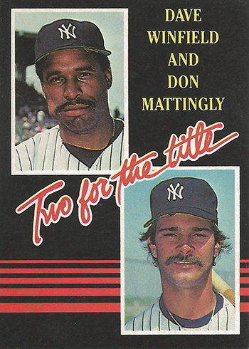 1985 Donruss Two for the Title