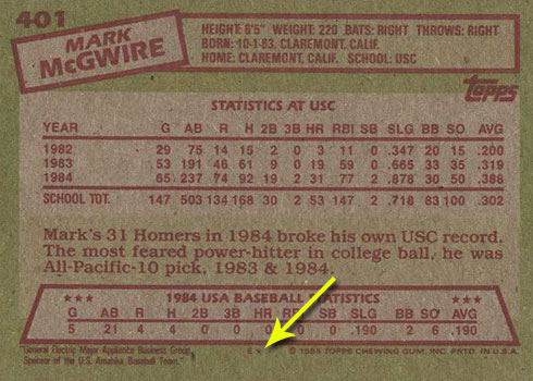 How To Tell Topps And Topps Tiffany Baseball Cards Apart Using Backs