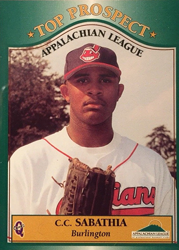 1998 Appalachian League CC Sabathia
