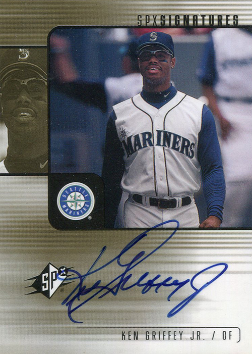 2000 SPx Signatures Ken Griffey Jr