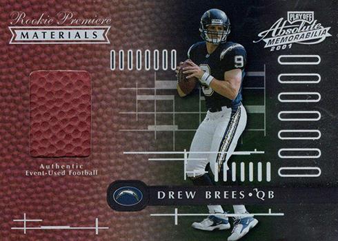 2001 Absolute Memorabilia Drew Brees RC