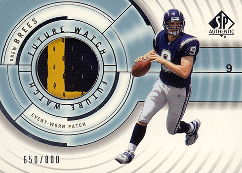 Most Valuable Drew Brees Rookie Card Rankings And Checklist