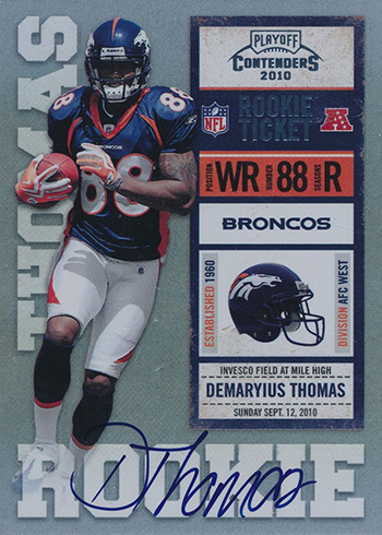 2010 Contenders Demaryius Thomas RC