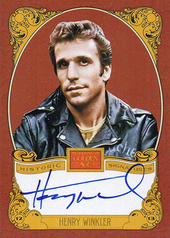 2013 Panini Golden Age Henry Winkler Autograph