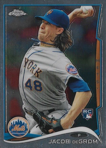 2014 Topps Chrome Update Jacob deGrom Rookie Card