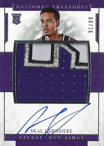 2016-17 Panini National Treasures Skal Labissiere