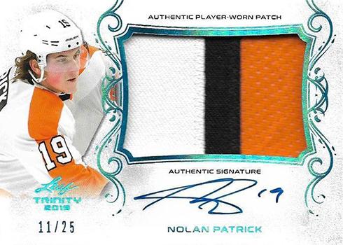 2017-18 Leaf Hockey Trinity Patch Nolan Patrick