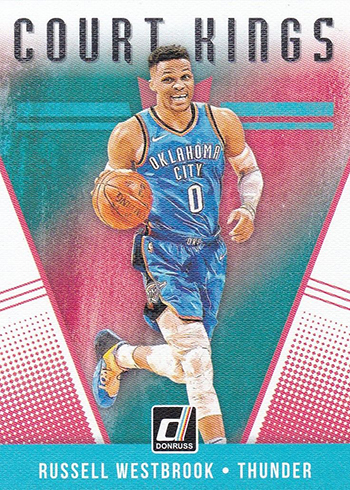 2018-19 Donruss Basketball Court Kings Russell Westbrook