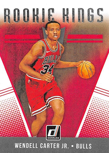 2018-19 Donruss Basketball Rookie Kings Wendell Carter Jr
