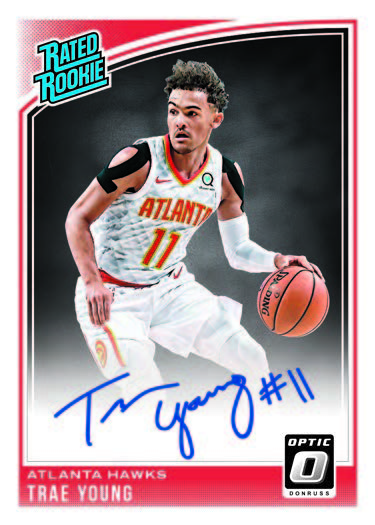 b06332469ff0 Additional autographed inserts in 2018-19 Donruss Optic Basketball include  Dominators Signatures