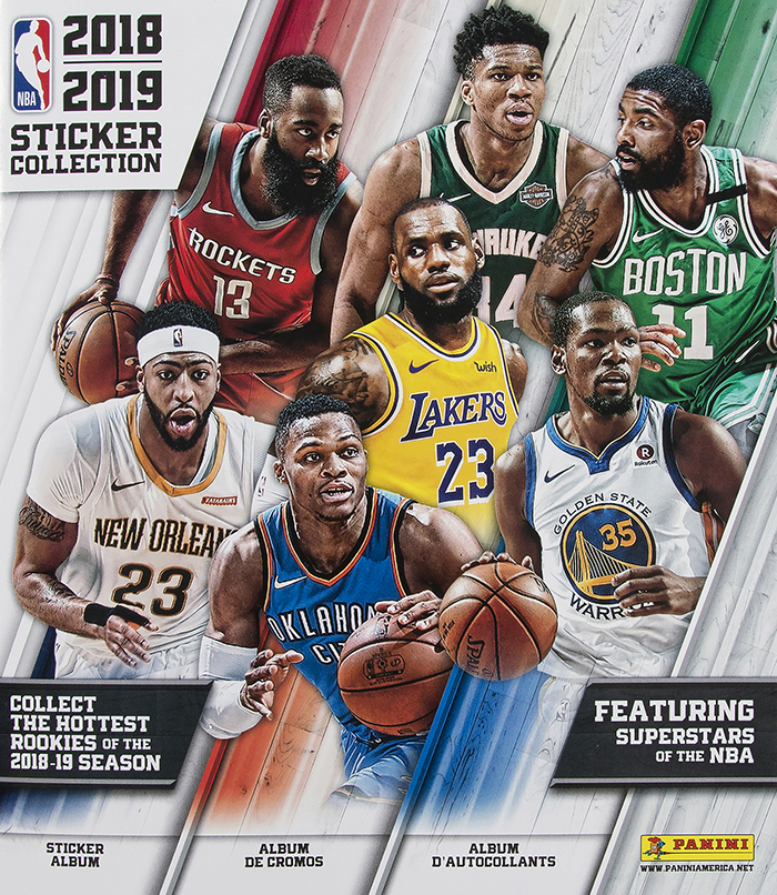 2018-19 Panini NBA Stickers Album