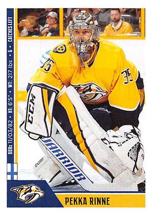 2018-19 Panini NHL Stickers Pekka Rinne