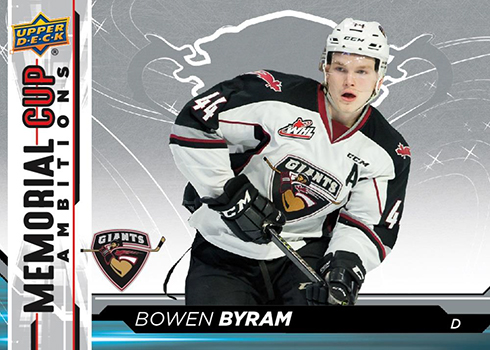 2018-19 Upper Deck CHL Hockey Memorial Cup Ambitions