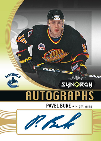 2018-19 Upper Deck Synergy Hockey Autographs