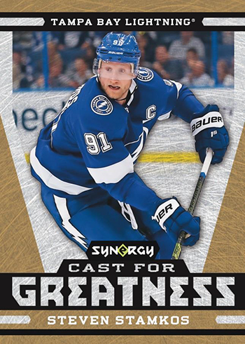 2018-19 Upper Deck Synergy Hockey Cast for Greatness