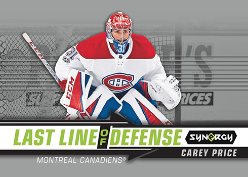 2018-19 Upper Deck Synergy Hockey Last Line of Defense