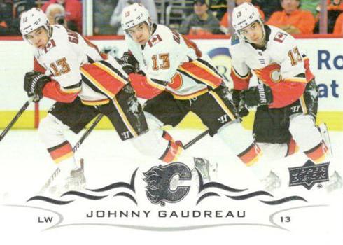 2018-19 Upper Deck Triple Exposure Variations Johnny Gaudreau