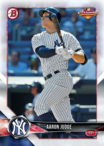 2018 Bowman AFL Fall-Stars Game Aaron Judge