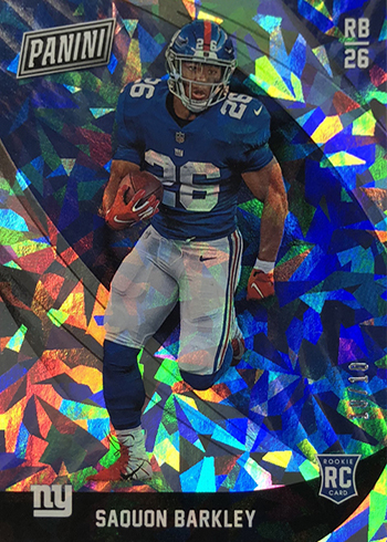 2018 Panini Black Friday Rookies Cracked Ice Saquon Barkley