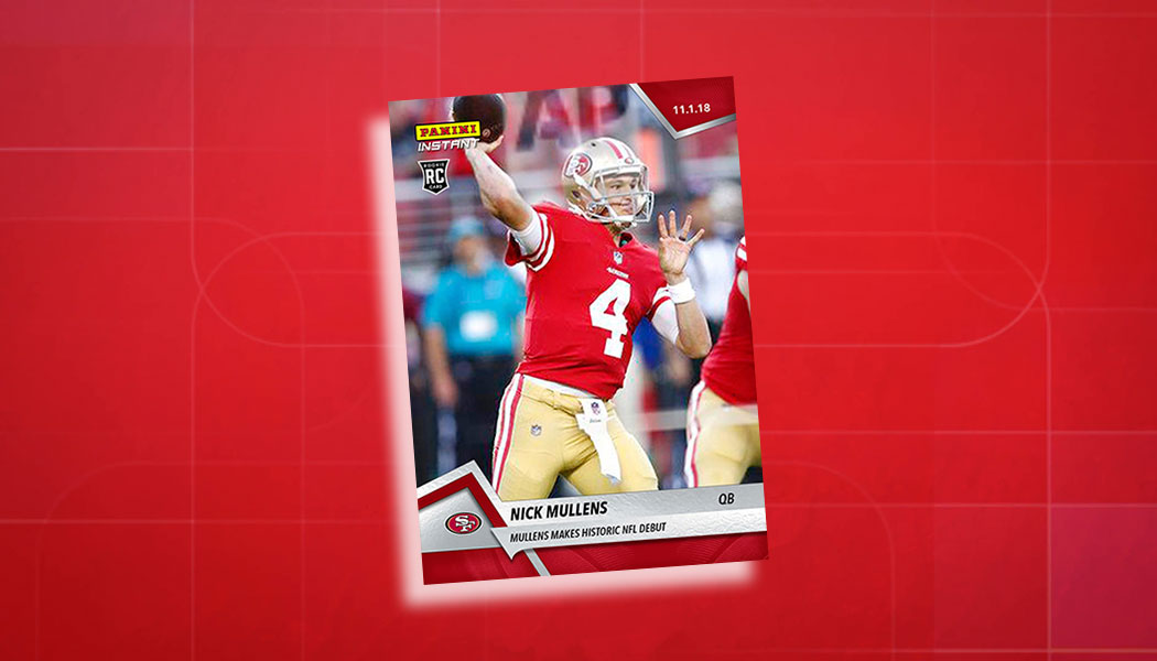 0f411c0aaa8 Here s Where to Find the First Nick Mullens Cards and When They Arrive.  Football Cards