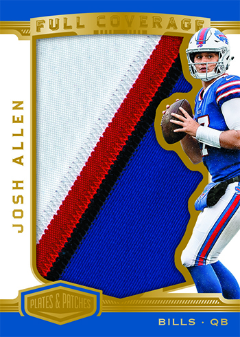 2018 Panini Plates and Patches Football Full Coverage