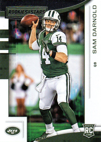 2018 Panini Rookies and Stars Football Sam Darnold RC