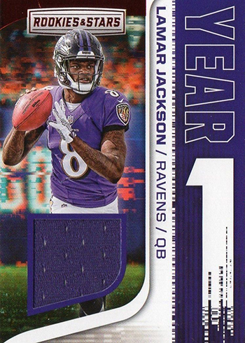 2018 Panini Rookies and Stars Football Year One Lamar Jackson