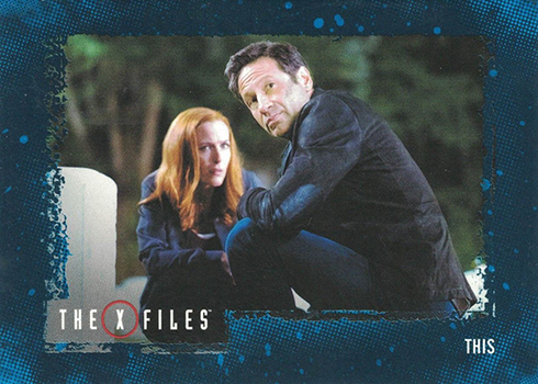 2018 Rittenhouse X-Files Seasons 10 and 11 Blue 45
