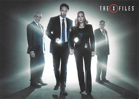 2018 Rittenhouse X-Files Seasons 10 and 11 Promo Cards P2